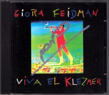 Giora Feidman SIGNED viva el klezmer Friend Michale bublichki vahaeir eineinu