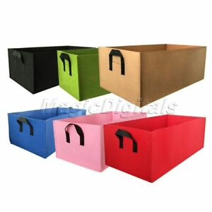 Fabric plant Grow Bag Garden Square gardening tools Flower Vegetable seeds Plant