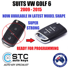 VW VOLKSWAGON GOLF 6 COMPLETE REMOTE KEY 2009 2010 2011 2012 2013 2014 2015