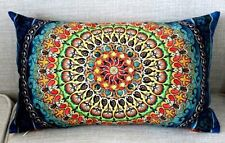 Cotton Linen Home Office Decorative Throw Waist Lumbar Pillow Case Cushion Cover