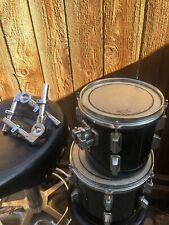 8� and 10� High Toms Add-Ons For Drum Set W/Pearl Mounts