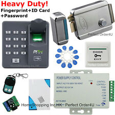 Fingerprint Rfid Card Password Access Control System+Electric Control Lock+Bell