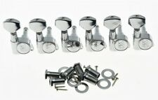 *NEW Wilkinson EZ-LOK Locking TUNERS Pegs for Fender Stratocaster Strat Chrome