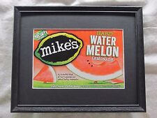 MIKE'S HARD WATERMELON LEMONADE  BEER SIGN  #1349