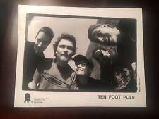 "TEN FOOT POLE California Punks Promo 10"" X 8"" Press Photo Epitaph Records"