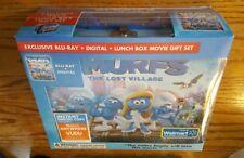 Schlümpfe: das verlorene Dorf (Blu-Ray & Digital, Brotzeitdose Geschenkset) Walmart Ex. NEU