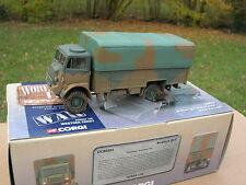 CORGI 1/50 MILITAIRE CAMION BEDFORD QLT 4X4 TRANSPORT DE TROUPE  1944 60301