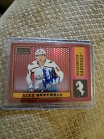 2019-20 OPC Platinum Update Auto R-1 Alex Ovechkin Red Rainbow Group A1:9,002