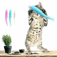Catnip Toys - Simulation Fish Shape- Fish Flop Cat Toy-Realistic Catnip Doll Int