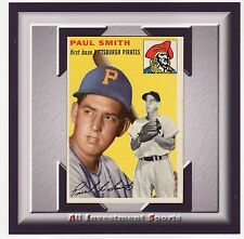 1954 Topps PAUL SMITH #11 NM-MT (OC) *awesome baseball card for set* M99C