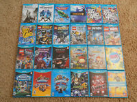 Nintendo Wii U Games! You Choose from Large Selection! $6.95 Each!