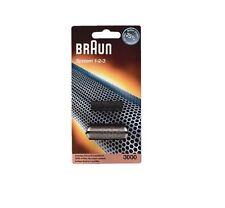 Braun Shaver 3000 System 1-2-3 Foil Cutter block 123 - BRAND NEW - GENUINE OEM
