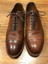 "Allen Edmonds ""Park Avenue"" Cap-Toe Oxfords 9.5 D Dark Chili EUC"