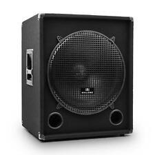 "[OCCASION] CAISSON BASSE AUNA HAUT PARLEUR 1200W MAX DJ PA SUB 18"" HP 46CM SPEAK"