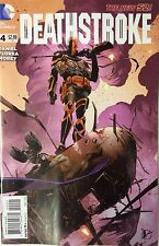 NEW DC 52 DEATHSTROKE #4 1:25 VARIANT COVER! arrow! teen titans!