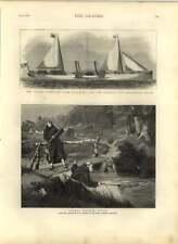 1875 NUOVA nave a vapore per Harwich e Rotterdam percorso, Claud Hamilton, I PESCI Frati