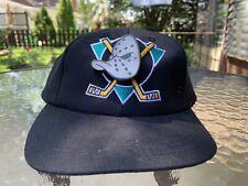 Original PRODUCK Mighty Ducks Snapback EXCLUSIVE for Mighty Ducks of Anaheim Hat