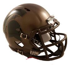 Michigan State Spartans Bronze Riddell Speed Mini Helmet