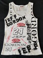 Womens Chase Authentics Jeff Gordon 24 Dupont Motorsports White Tank Top size XL