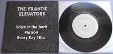 """The Frantic Elevators - Voice In The Dark 1979 TJM 7"""" P/S"""