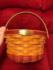 2002 Signed Longaberger Woven Memories basket