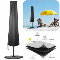 Schutzhülle für Sonnenschirm Garten Abdeckung Sonnenschirmhülle Wasserdichtes