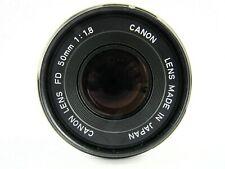 Canon 50mm 1:1.8 Camera Lens and Hoya Filter