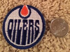 Edmonton Oilers NHL Stitched Hat Shirt Hockey Crest Patch 2 inches in diameter