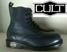 """CULT """"BELLISSIMO ANFIBIO IN PELLE  COL. BLU  N° 40 NUOVO"""""""