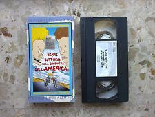 BEAVIS & BUTT-HEAD ALLA CONQUISTA DELL'AMERICA - ITA VHS 2000 FILM 78m. EDICOLA