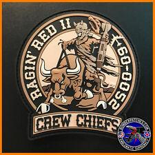 B-52 96TH BOMB SQ CREW CHIEF PATCH 60-0052 RAGIN RED II BARKSDALE AFB Desert Sub