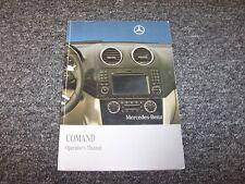 2010 Mercedes Benz SLK300 SLK350 SLK55 SLK-Class Navigation System Owner Manual