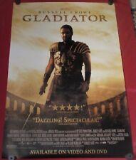 Gladiator Movie Poster 27x40 S/S Russell Crowe Joaquin Phoenix Richard Harris