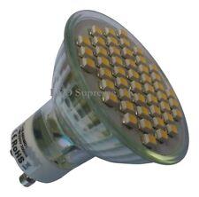 GU10 48 SMD LED 210LM 3.5W Warm White Bulb ~45W