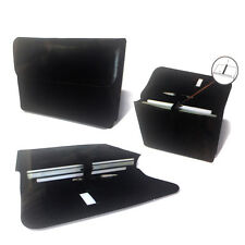 "New 13"" Padded Leather Laptop Notebook Carry Case Bag Sleeve for Mac Book"