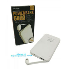 POWER BANK 6000 maH ( Cable inclus et Adaptateur Lightning ) CHARGEUR PORTABLE