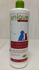 Pet Odor & Stain Eliminator Remover Safe for Vomit Urine Feces - Unique 24 oz