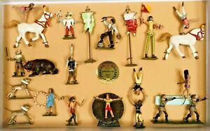 BOB HORNUNG ART (Cincinnati USA c.1994) 17pc. MEDIEVAL CIRCUS SET - mint in box!