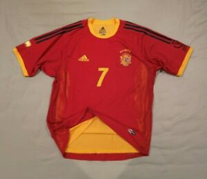 Spain 2002 Home Player Issue M Raul Gonzalez