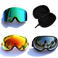 Men Women Ski Snow Snowboard Skiing Goggles Eye Protector Multi Colors Styles