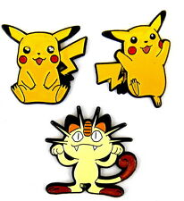 Comic pin/Pins-Pokémon © Nintendo/3 pins!!! (2116c)