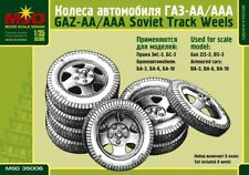 MSD 35006 Wheels Set for Soviet WWII Track GAZ-AA, GAZ-AAA and armored cars 1:35