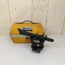 Vintage Berger Instruments Model 143b Transit Level With Hard Case Surveying