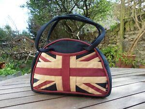 Goodwood Revival Vintage style Union Jack Handbag
