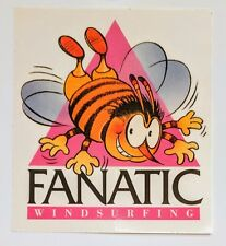 Fanatic stinger Bee Vintage Windsurfing sticker wind surf 80s logo Decal Rare😎