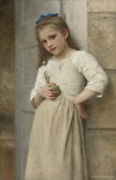 William Adolphe Bouguereau Yvonne Giclee Canvas Print Paintings Poster
