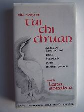 Way Of T'ai Chi Ch'uan Gentle Exercise for Health & Inner Peace VHS Lana Spraker