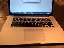 "Apple MacBook Pro ME293LL/A 15.4"" Laptop Retina Display 256GB SSD 8GB OS 10.13.4"