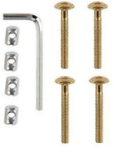 Screw & Dado Kit per letti cots Letto Lettino Mobili M6 x 50mm ALLEN KEY inclusa 4PK