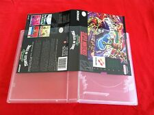 5 Pack Universal Game Cases- Super Nintendo,Sega Genesis,Nintendo 64 -BEST PRICE